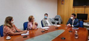 O Deputado Iolando se reúne com Secretario de Desenvolvimento para discutir assuntos sociais