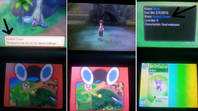 Lokasi Mendapatkan Noibat dan Bagon Di Pokemon Ultra Sun & Moon