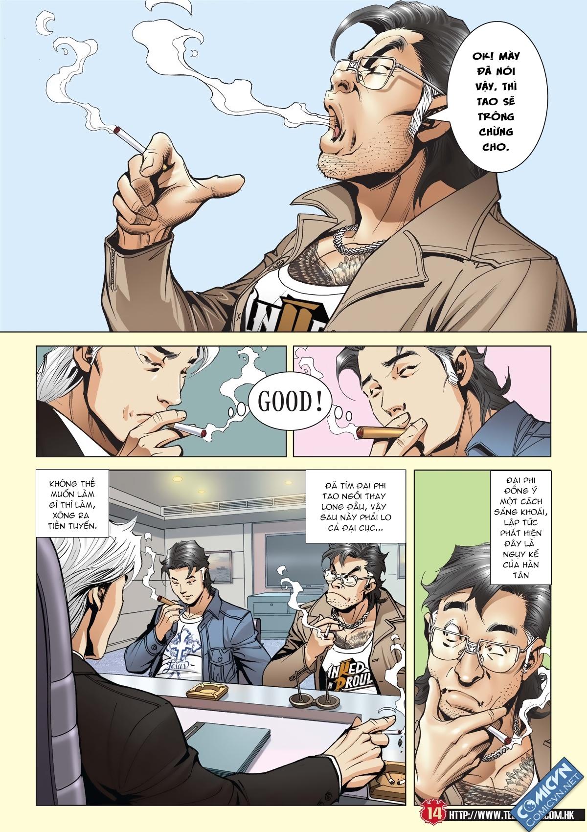 Người Trong Giang Hồ chapter 2011: hàn tân bỏ trốn trang 12