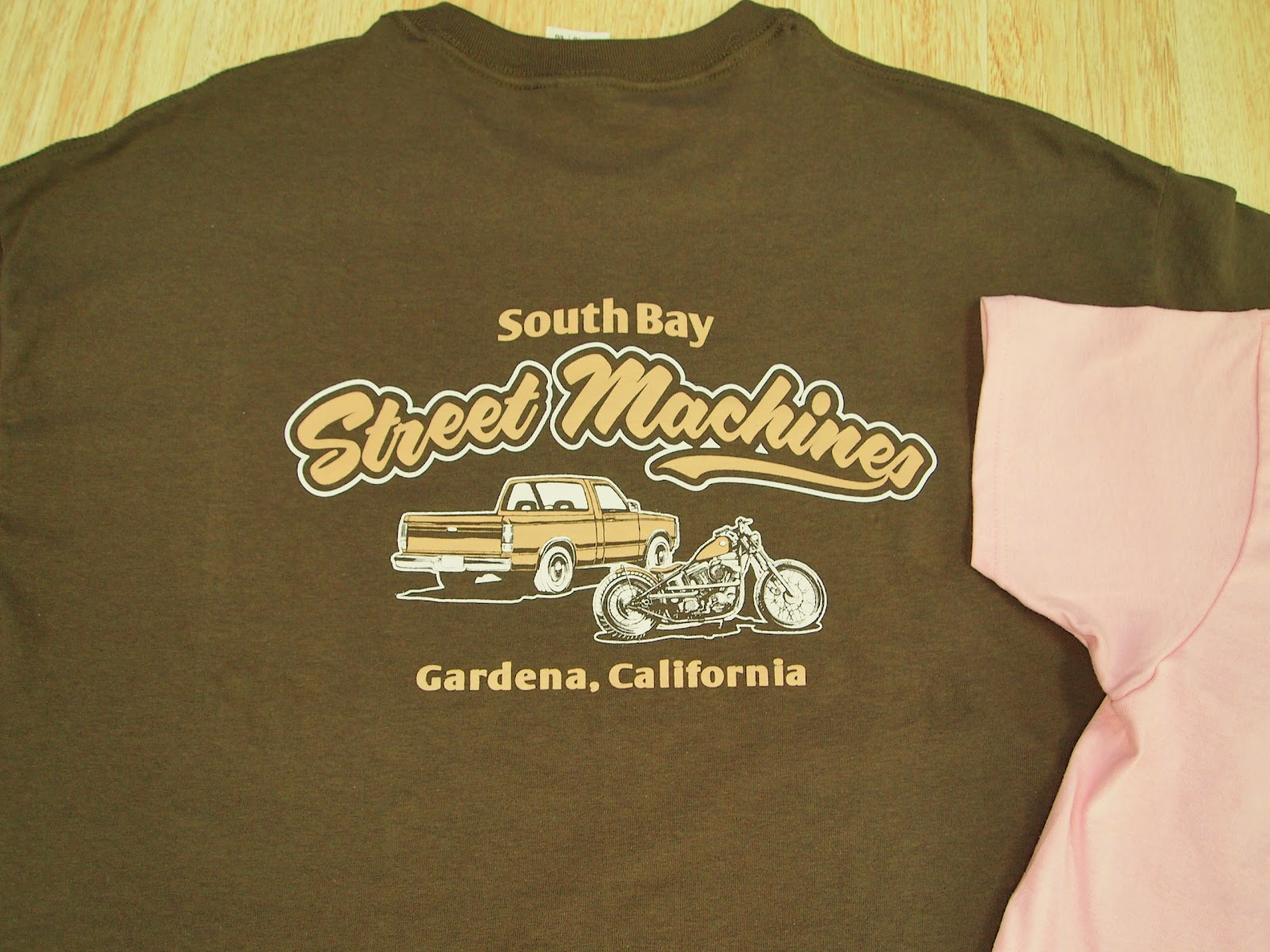 South bay street machines t shirts for South bay t shirts
