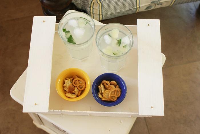lemon mint ice cubes recipe