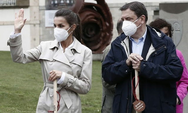 King Felipe and Queen Letizia attended the opening ceremony of the Jacobean Year 2021 in Navarra town of Roncesvalles