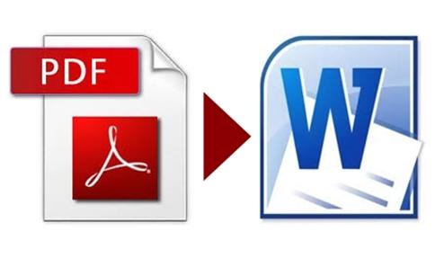 Gambar tutorial cara convert/mengubah pdf ke dokumen office world
