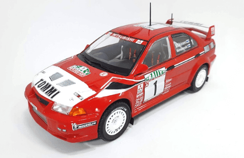 WRC collection 1:24 salvat españa, Mitsubishi Lancer Evolution VI 1:24