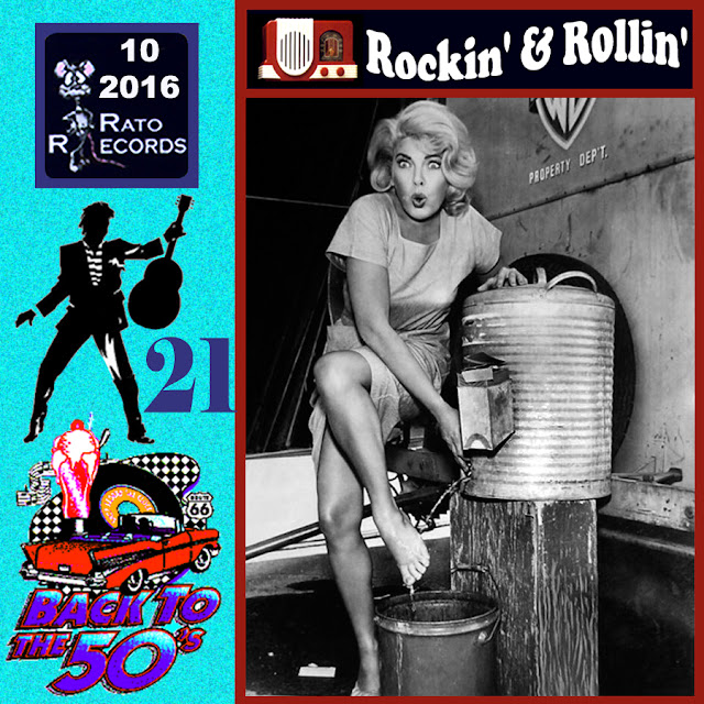 Cd collection Back To The 50's - Rockin' & Rollin' 21 Front%2B21