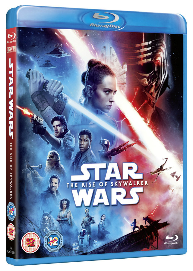 Star Wars: The Rise of Skywalker bluray