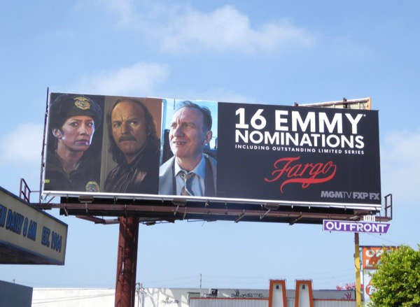 Fargo 16 Emmy nominations season 3 billboard
