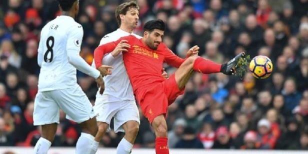 Liverpool Kalah dari Swansea di Anfield