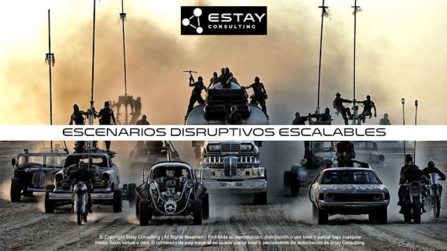 Escenarios disruptivos escalables - una nueva fuente de #innovación continua - Christian A. Estay-Niculcar