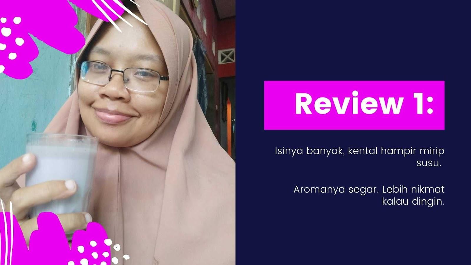 kesan pertama roove beauty drink halal