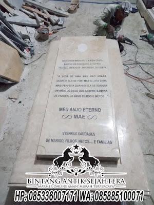 Model Makam Kristen Terbaru, Kuburan Kristen Marmer Mewah, Kijing Kristen Marmer
