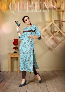 Ayush fashion Angel look Daily wear kurtis wholesaler