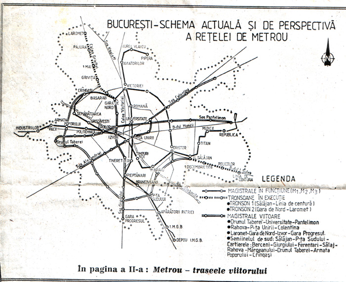 Metroul Din Bucuresti Istoria Sistemului De Transport In Subteran