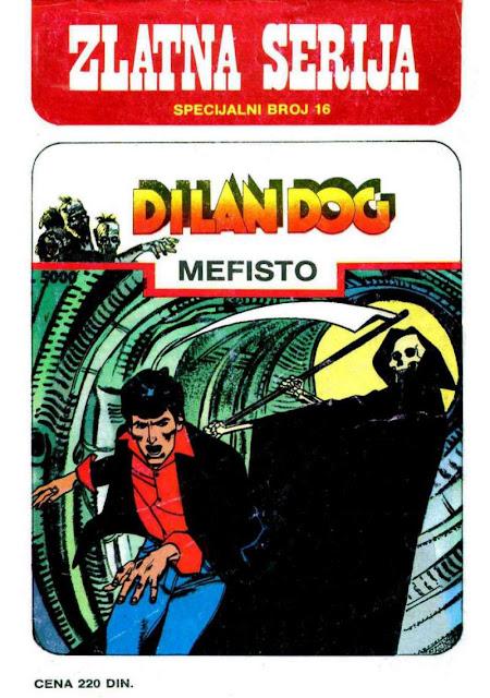Mefisto (Zlatna Serija) - Dylan Dog