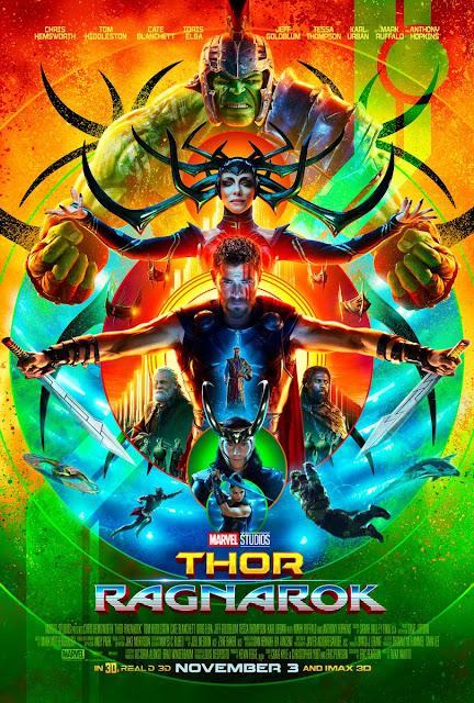 San Diego Comic-Con 2017 Exclusive Thor: Ragnarok Theatrical One Sheet Movie Poster