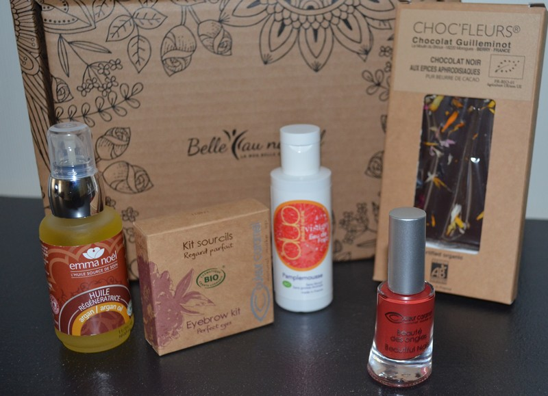 avis La box belle et bio Belle au naturel Passion & Romance