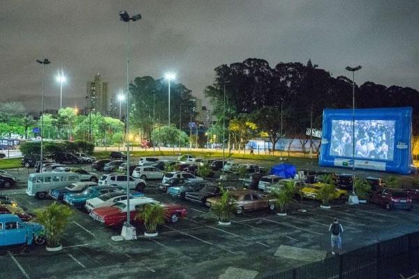 CINEMA DRIVE IN INVADE O IGUATEMI RIO PRETO
