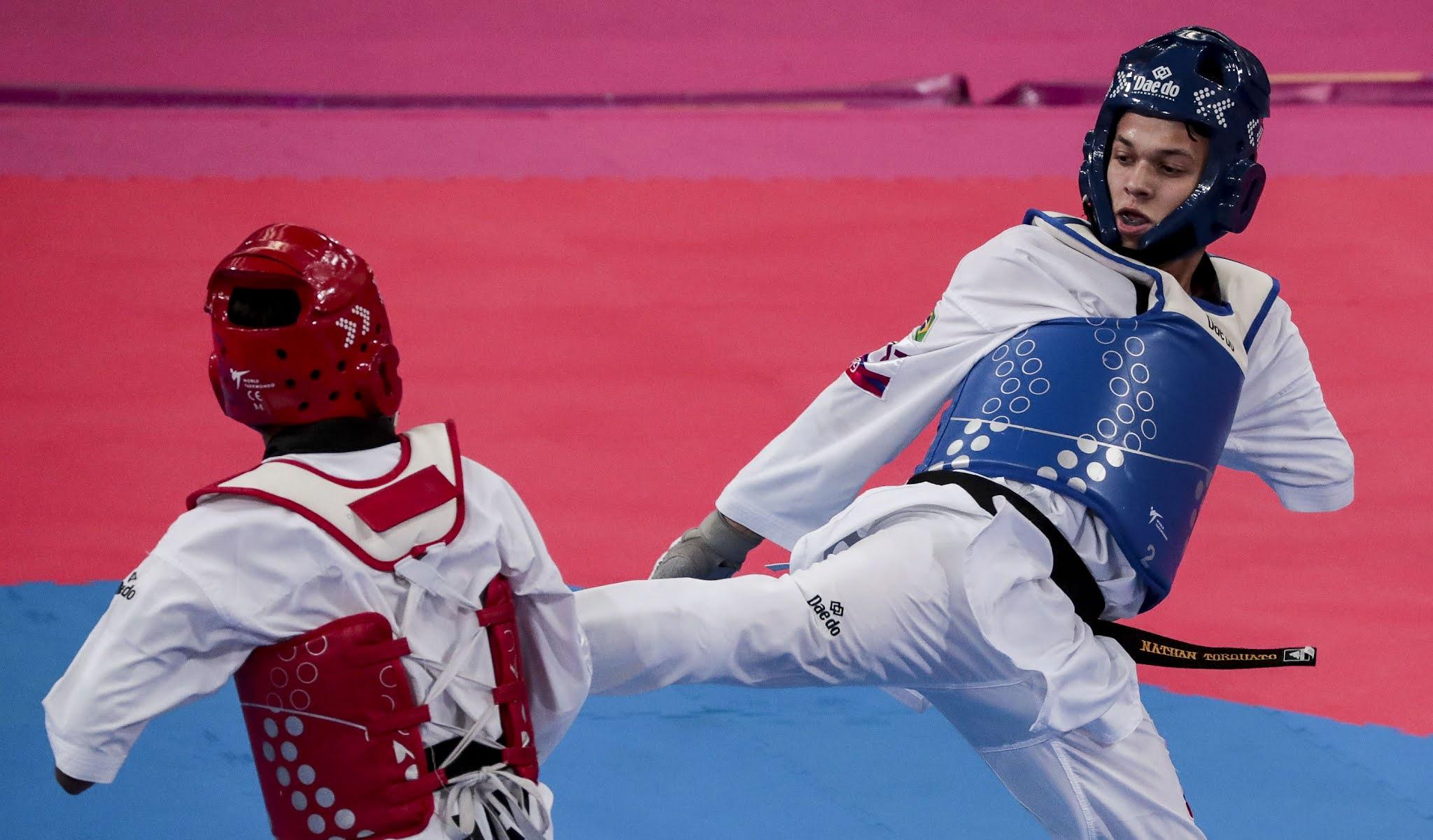 Nathan Torquato é chance de medalha do Brasil no parataekwondo