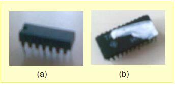 Gambar 10.3: Contoh Kerusakan IC