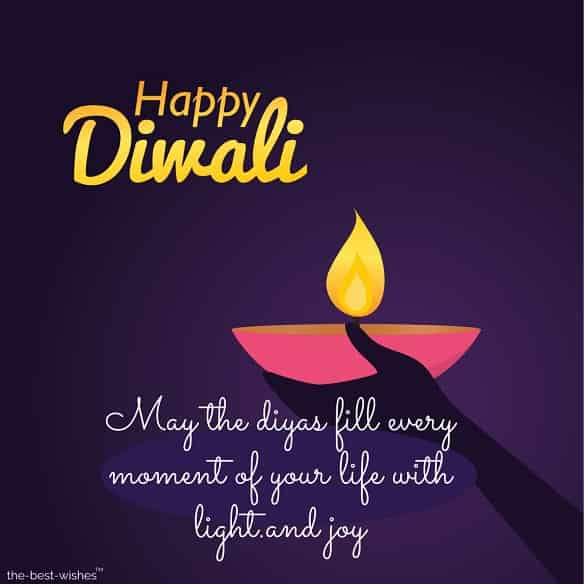 short diwali wishes