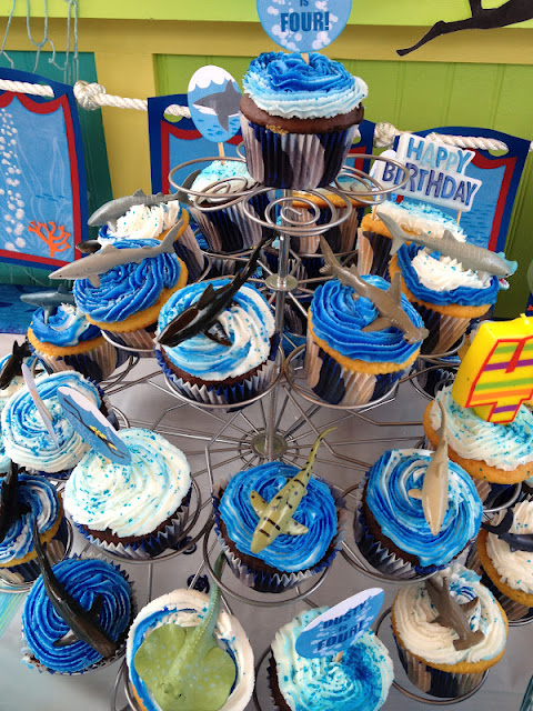 Its All About A Shark Birthday PartyFUN Ideas Galore