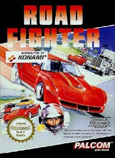 Gameplay Road Fighter Nintendo