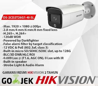 IP Camera HIKVISION DS-2CD2T26G1-4I