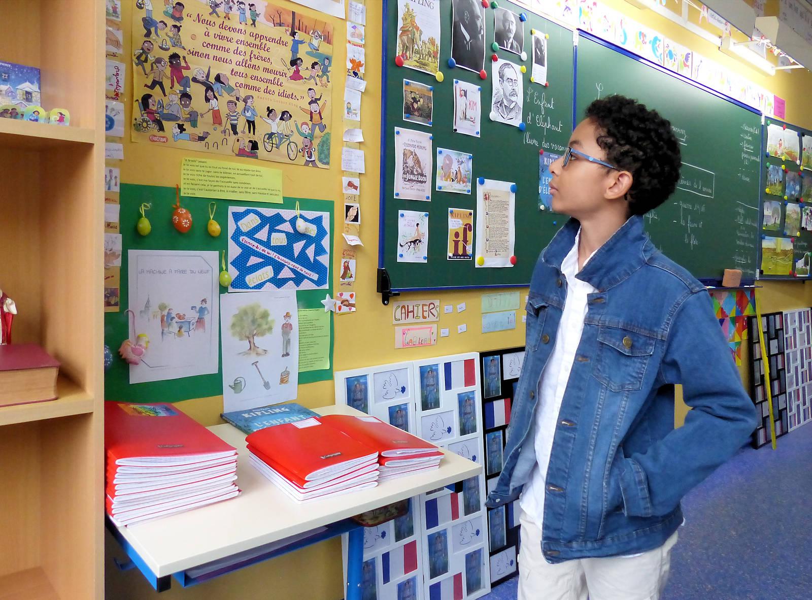 École primaire CNDI catholique privée, Tourcoing - Salle de classe