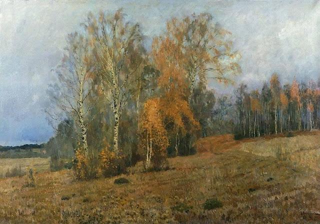 Исаак Ильич Левитан - Октябрь (Осень). 1891