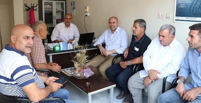 Başkan Aksoy'dan muhtarlara ziyaret