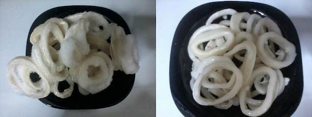 Receita de lula com pimentão e cebola light