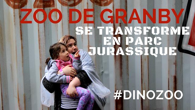 #DinoZoo - Le Zoo de Granby se transforme en parc Jurassique...
