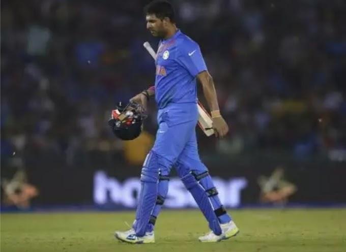बीसीसीआई ने युवराज को वादा कर के  नहीं दिया बिदाई मैच का मौका, युवराज ने बताई योयो कि आपबीती ।
