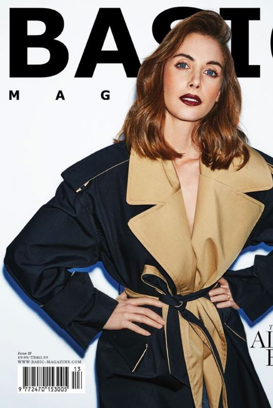 Alison Brie Featured for Basic Magazine - Spring 2020
