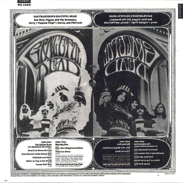 Skeletons In The Closet Grateful Dead Best Of The