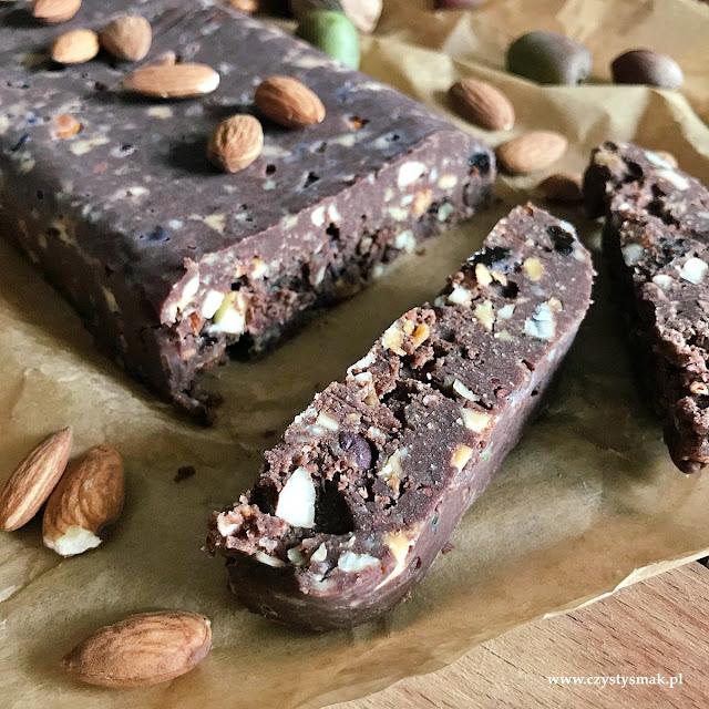Blok czekoladowy bez mleka w proszku