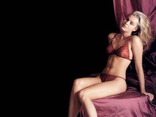 Rebecca Romijn Red Bikini