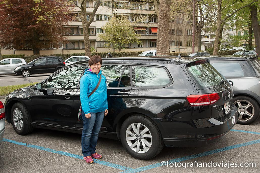 aparcar en Suiza