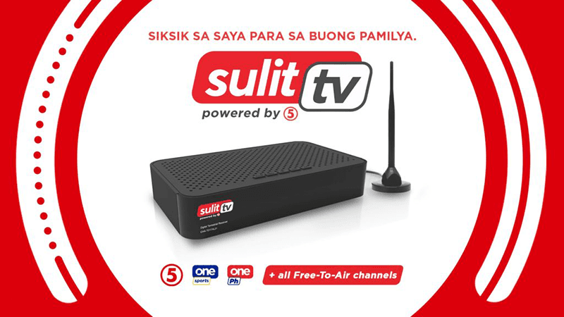 """TV5 launches """"Sulit TV"""" DTV box for just PHP 890"""