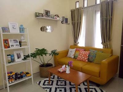 gambar dekorasi ruang tamu sederhana terbaru