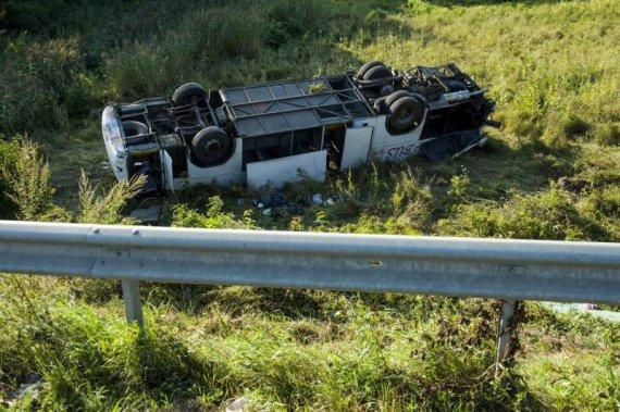 В Угорщині перекинувся автобус з українцями