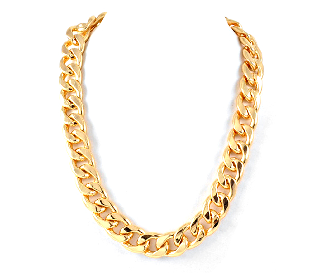 Gold Chain Necklace for Both Male and Female