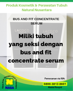 Bus And Fit Concentrate Serum Payudara