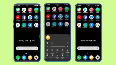 Download Tema MIUI Dark Untuk Vivo Smartphone