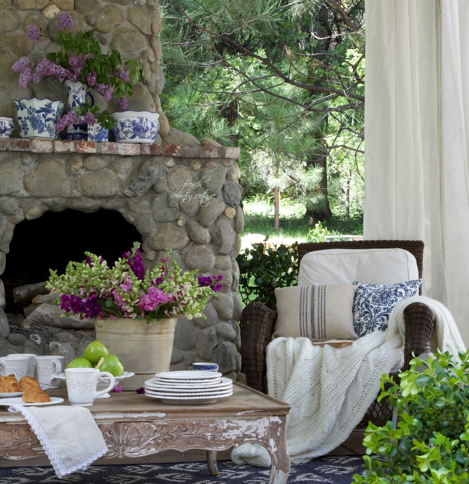 Summer Garden Party Event - FRENCH COUNTRY COTTAGE