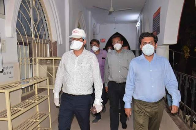 जिला अस्पताल में सोमवार से शुरू होगी सभी स्वास्थ्य सुविधायें कलेक्टर ने किया व्यवस्थाओं का निरीक्षण / Jabalpur News