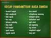 Mengenal Kecap Anteuran Atau Kata Pengantar dalam Bahasa Sunda