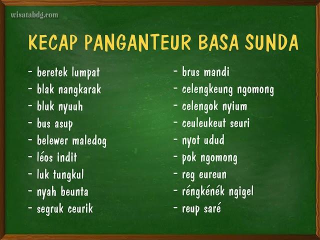 Mengenal Kecap Panganteur Atau Kata Pengantar dalam Bahasa Sunda
