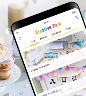 Creative Parka app