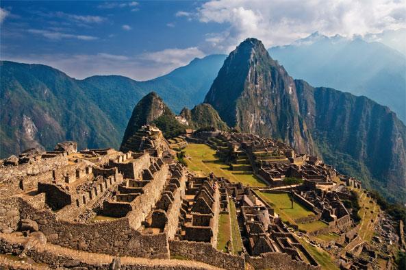 MACHU PICCHU PERU FACT LOCATION & ELEVATION